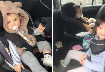 3 tips from mommy Lara for safe car journeys with children!