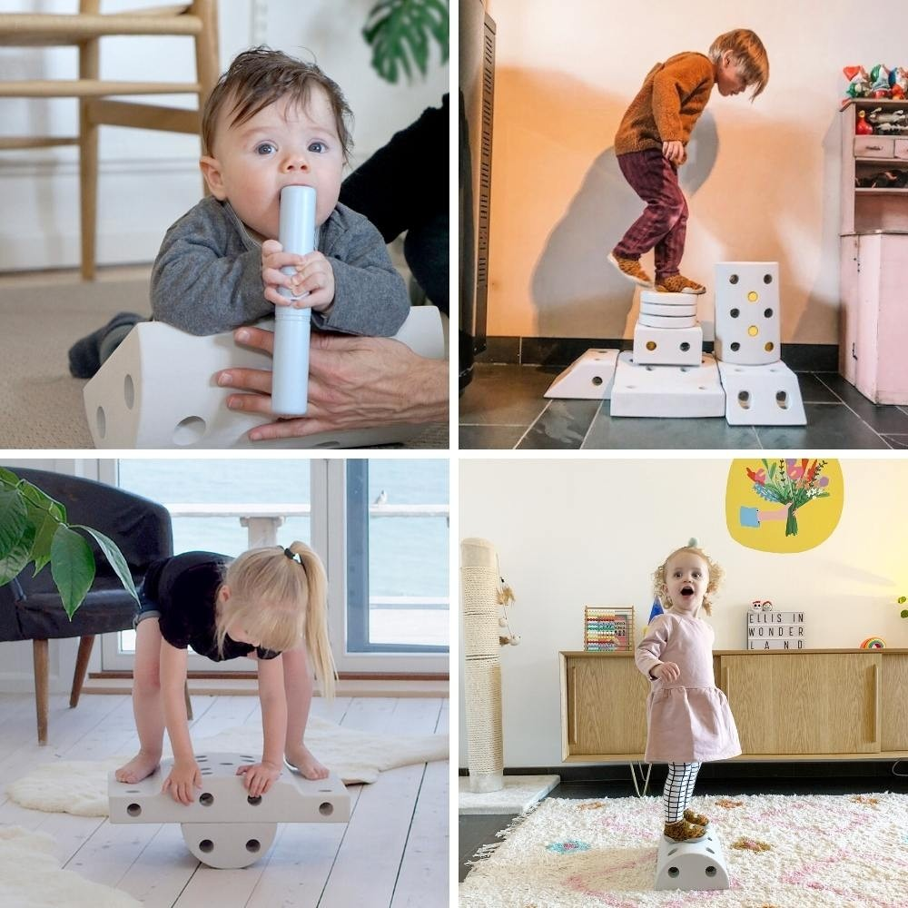 MODU encourages the development of your child through active play